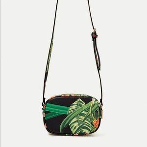Zara tropical crossbody bag